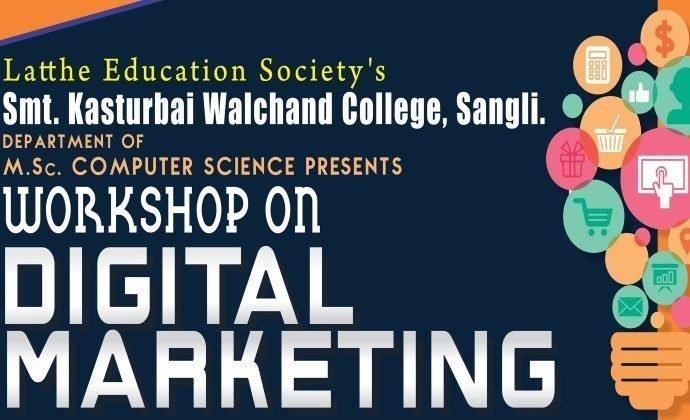Digital Marketing Workshop – KWC College, Sangli