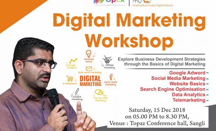 Digital Marketing Workshop, Sangli