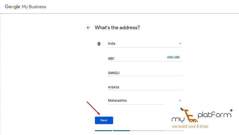 myeplatform-digital marketing agency-google my business business address
