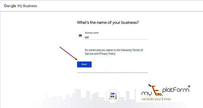 myeplatform-digital marketing agency-google my business business name