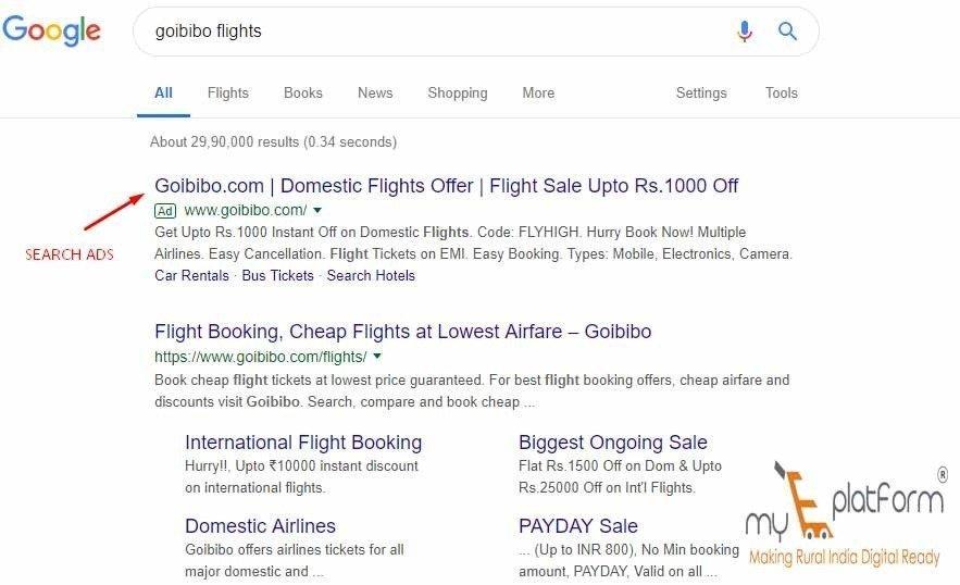 myeplatform-digital marketing agency-google search ads