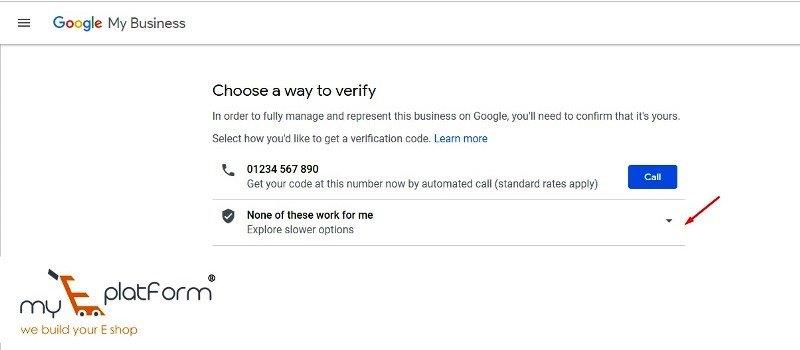 myeplatform-digital marketing agency-google my business business verification